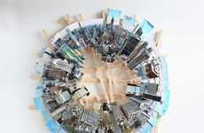 Aerial View Cityscape Dioramas