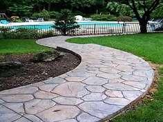 Rustic Concrete Cobblestone Molds