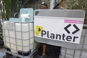 Plant Fertilizing Public Urinals