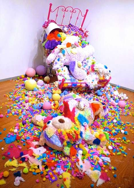 Vibrantly Explosive Technicolor Exhibits
