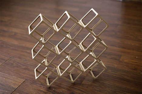 Origami-Like Wooden Blocks