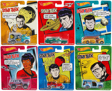 Sci-Fi Car Collectibles - These Star Trek Hot Wheels Cars Match Each Cast Member Perfectly