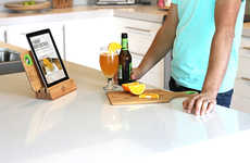 Bottle Opener Chopping Boards - The B.O.B Cutting Board Serves More than One Purpose