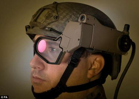 Military Augmented Reality Headsets - Q-Warrior by BAE Systems Gives Soldiers Iron Man Vision
