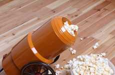 Artillery Popcorn Projectile Poppers - Make Great Popcorn with the Cannon Popcorn Maker