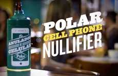 Signal-Blocking Beer Coolers - Polar Cell Phone Nullifier Ensures Full Attention Devoted to Company