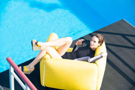 Cushioned Poolside Furniture