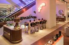 Shoe Department Portable Bars - Selfridges Put a Portable Bar in One of Its Shoe Departments