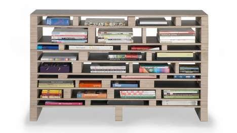 Haphazard Horizontal Shelves