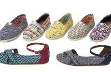 Groovy Artist-Designed Shoes - The Jonathan Adler x Toms Shoe Collaboration is Too Rad