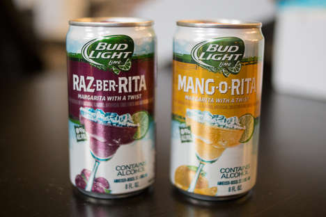 Margarita Canned Beer Creations - Bud Light Launched a New Line-Up of Delicious Summer Flavors