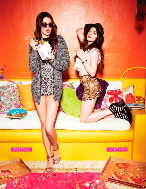 Sibling Celeb Lookbooks - Kendall and Kylie Jenner Star in the New Steve Madden Photo Shoot