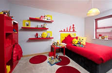 Fully-Adorned Iconic Bedrooms - This Themed LEGO Bedroom is Designed for the Ultimate Building-block