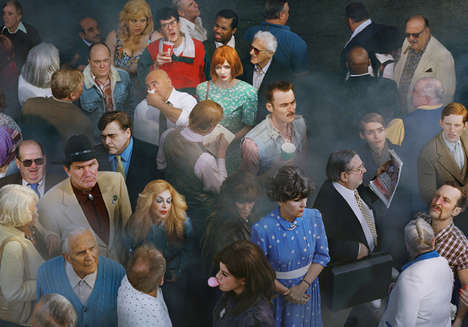Cinematic Crowded People Photography
