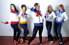 Stylish Anime Hero Hoodies - This Sailor Moon Line from Rarity's Boutique is Cartoon Chic