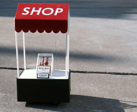 Remote-Controlled Minature Shops - This Pop-Up Shop in Japan is Controlled Wirelessly