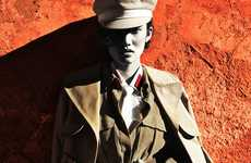 40s Military-Inspired Editorials