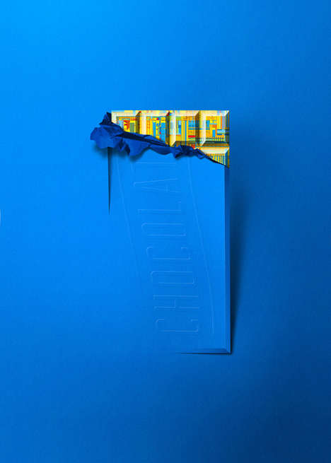 Product Interior Paper Prints - These Intel Paper Cut-Out Prints Depict Everyday Objects