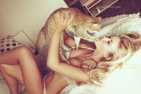 Seductive Kitten Photoshoots