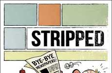 Celebrated Comic Comebacks - Stripped is Bill Watterson's First Published Cartoon After 19 Years
