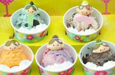 Cutesy Ice Cream Dolls - In Japan Baskin Robbins is Currently Celebrating Doll Festival