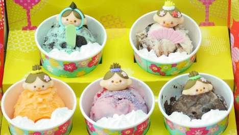 Cutesy Ice Cream Dolls