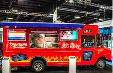Glutinous Computer Food Trucks - IBM Technology Truck Thinks Like a Human Stomach