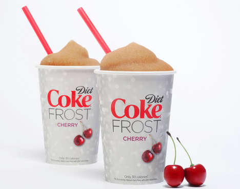 Diet Fruit-Flavored Pop Slurpees - The Newest Slurpee Unveiled is the Diet Coke Cherry
