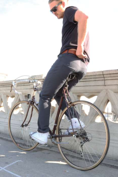 Sophisticated Cycling Apparel - The LUNIS Apollo Pants Marry Fashion with Rugged Versatility