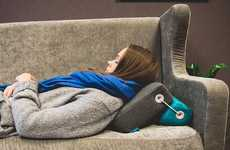 Versatile Surface-Adapting Pillows - The Flip! Pillow Adapts to Any Situation or Sleep Pattern