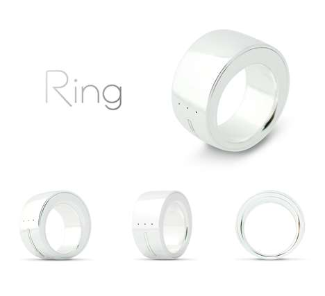 Wireless Gesture-Controlled Jewelry - The 'Ring' is a Wireless Device That Works With Gestures