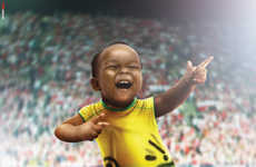 Baby Olympic Sprinter Ads