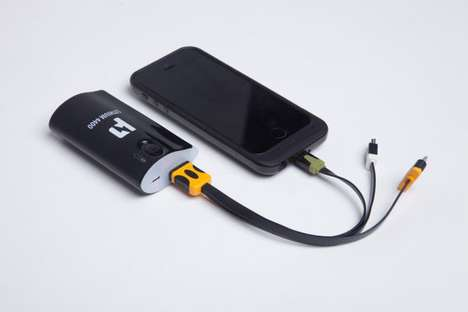 Device-Charging Flashlights