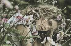 Moody Countryside Fashion Ads - The High S/S 2014 Campaign Stars Ilse De Boer and Kim Noorda