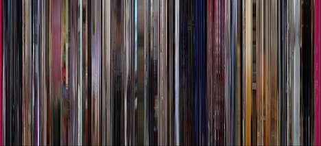 Psychedelic Vibrant Film Artwork
