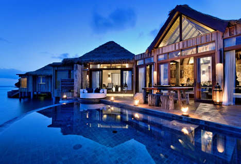 Eco Luxurious Island Retreats - The Song Saa Private Island Eco Hotel is Opulent and Mesmerizing