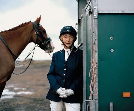 Solemn Equestrian Portraits