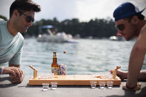 Mini Tabletop Drinking Games - Easily Bring Your Favorite Game to Any Party with Mini Beer Pong