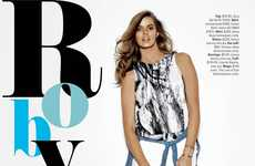 Bodacious Off-Duty Chic Editorials - Robyn Lawley Stuns in the Cosmopolitan Australia 2014 Spread