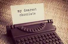 Edible Chocolate Typewriters