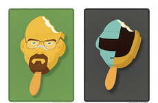 Pop Culture Popsicle Illustrations - These Illustrations Turn Famous Characters into Tasty Treats