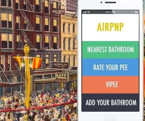 Social Media Urination Stations