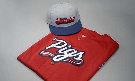 Bacon-Themed Baseball Uniforms