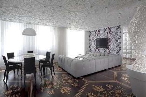Stunning Regal-Patterned Interiors