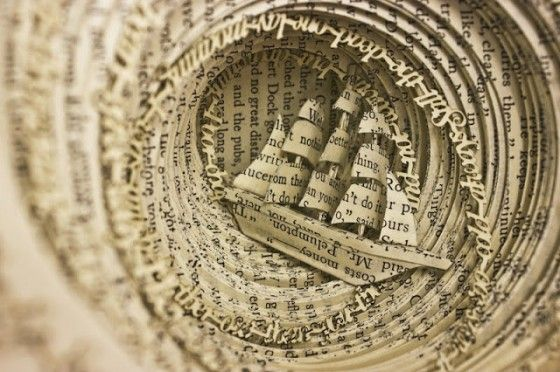 49 Astonishing Book Art Projects