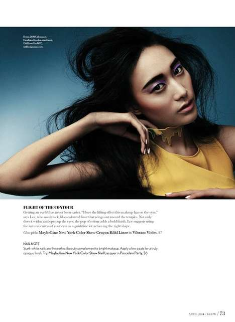 Artistic Makeup Editorials