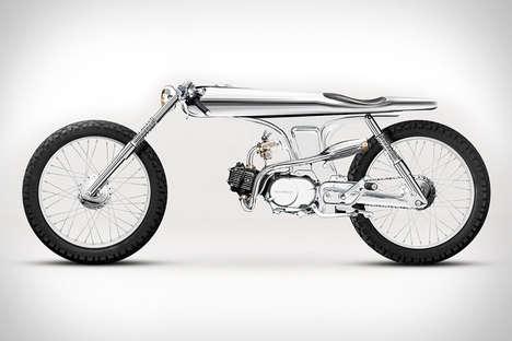 Insanely Slim Motorbikes