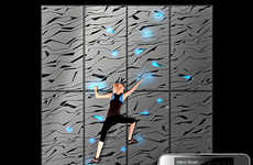 Hi-Tech Climbing Walls - Nova Climbing Lights Up by Smartphone App for Unique Bouldering Problems