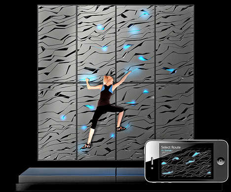 Hi-Tech Climbing Walls