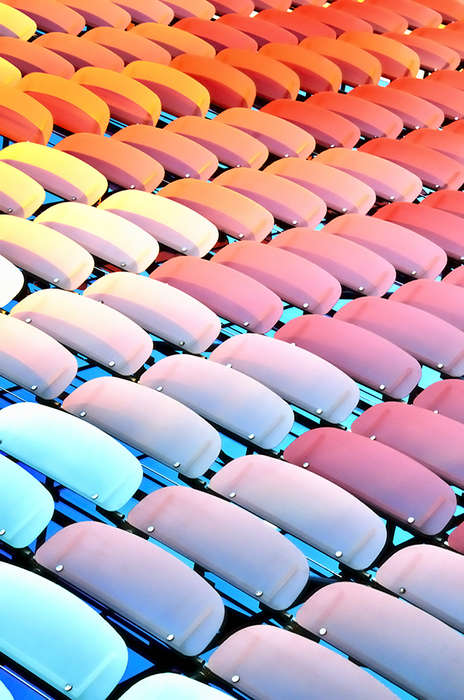 Colorful Candy-Like Building Photography